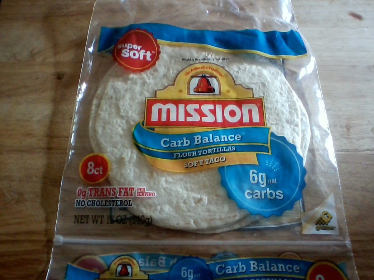 "Tortillas, particularly ""Carb Balance"" are great for those watching carbs and their glycemic index both."