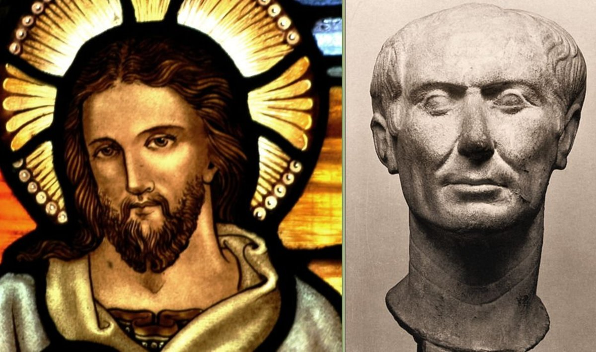 Jesus Christ or Julius Caesar ~ Who is More Likely to Have Been a Real Person?