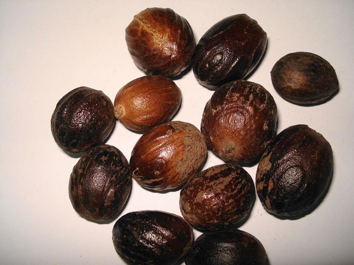Whole Kernels of Nutmeg