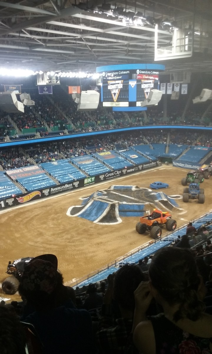 Monster Jam truck show - a review