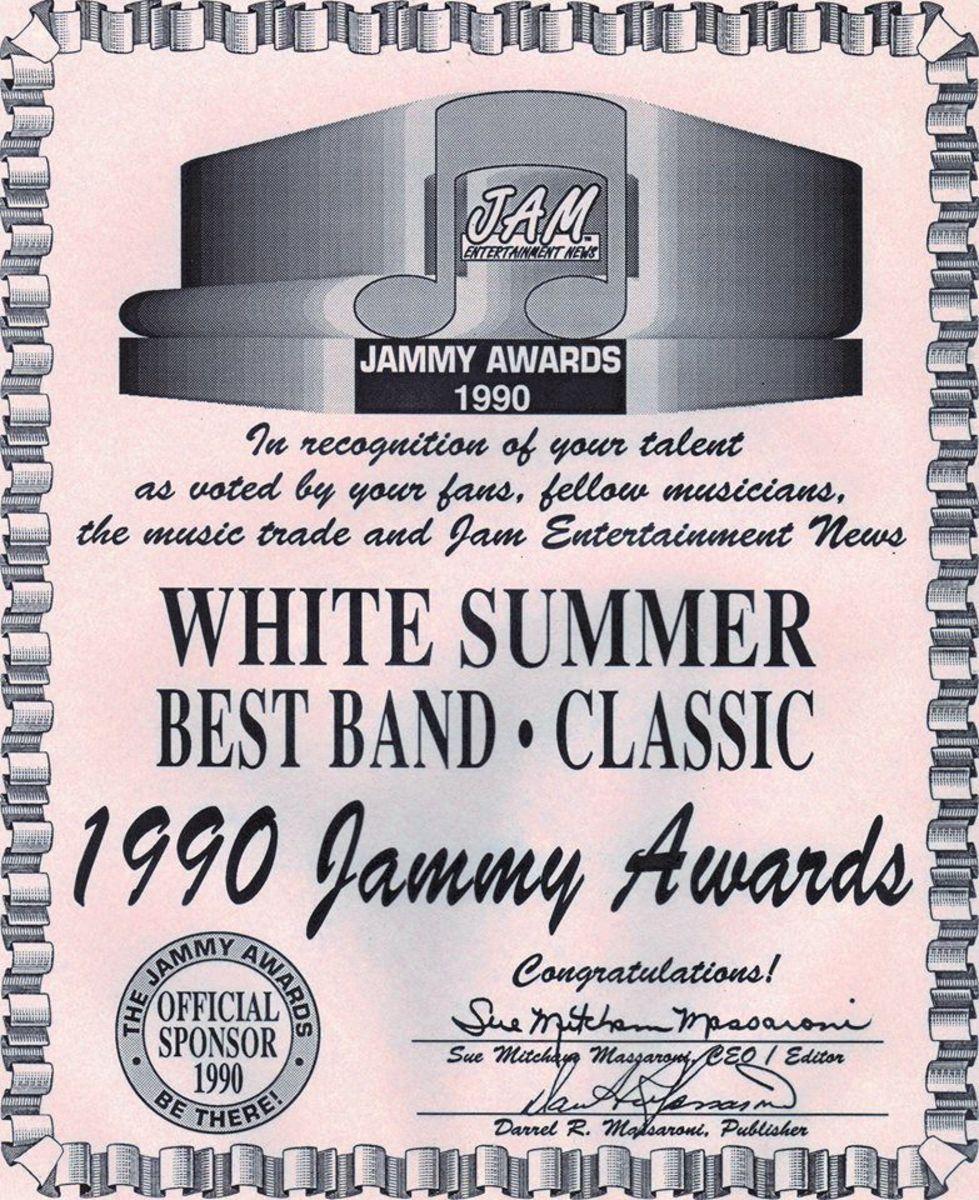 Best Classic Rock Band in America: White Summer