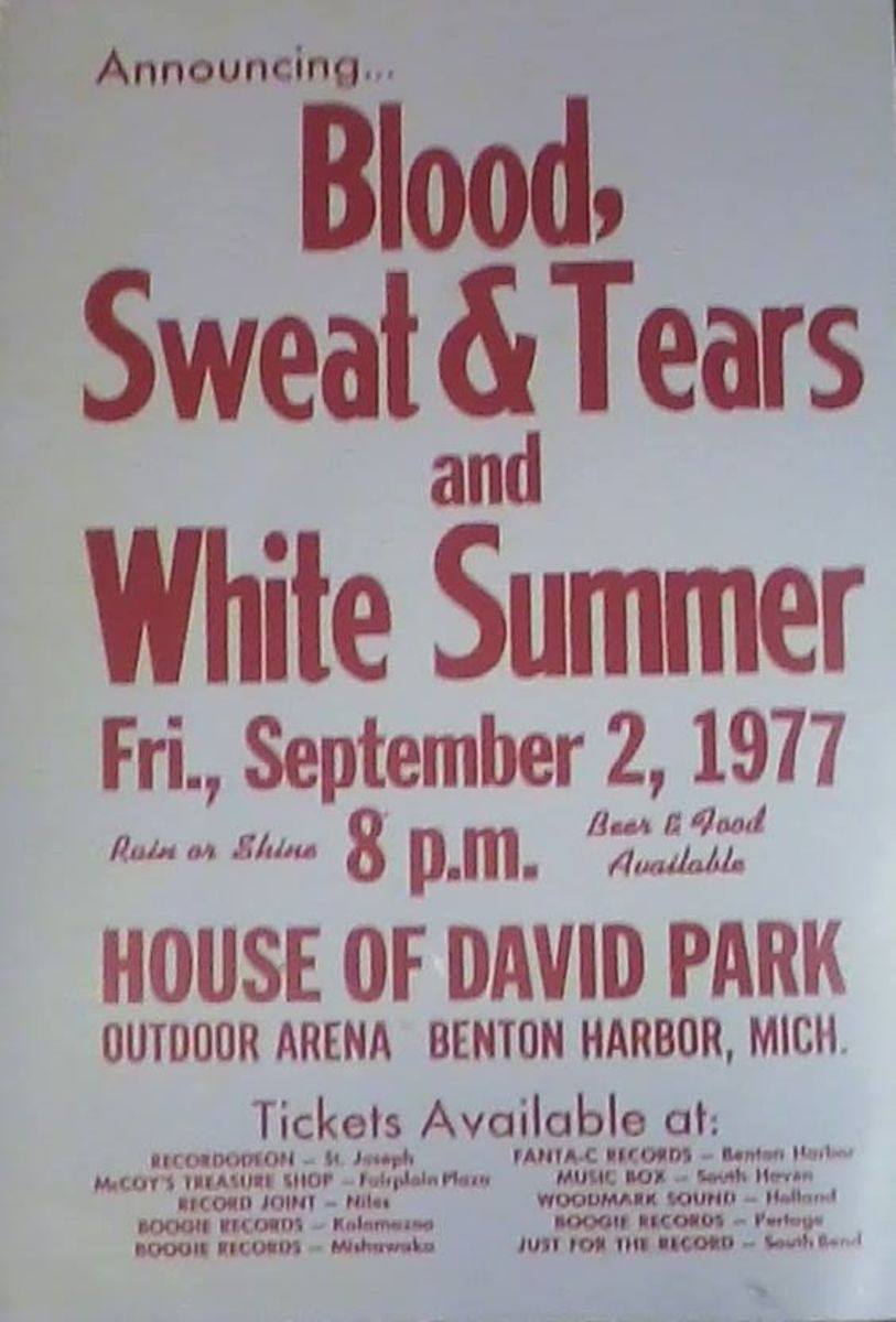 The first major concert appearance for the White Summer band