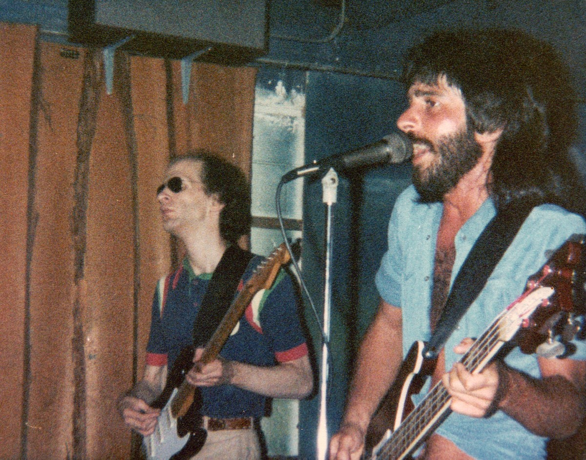 Jimmy Schrader and Danny Misch, White Summer, Cocoa Beach, 1980