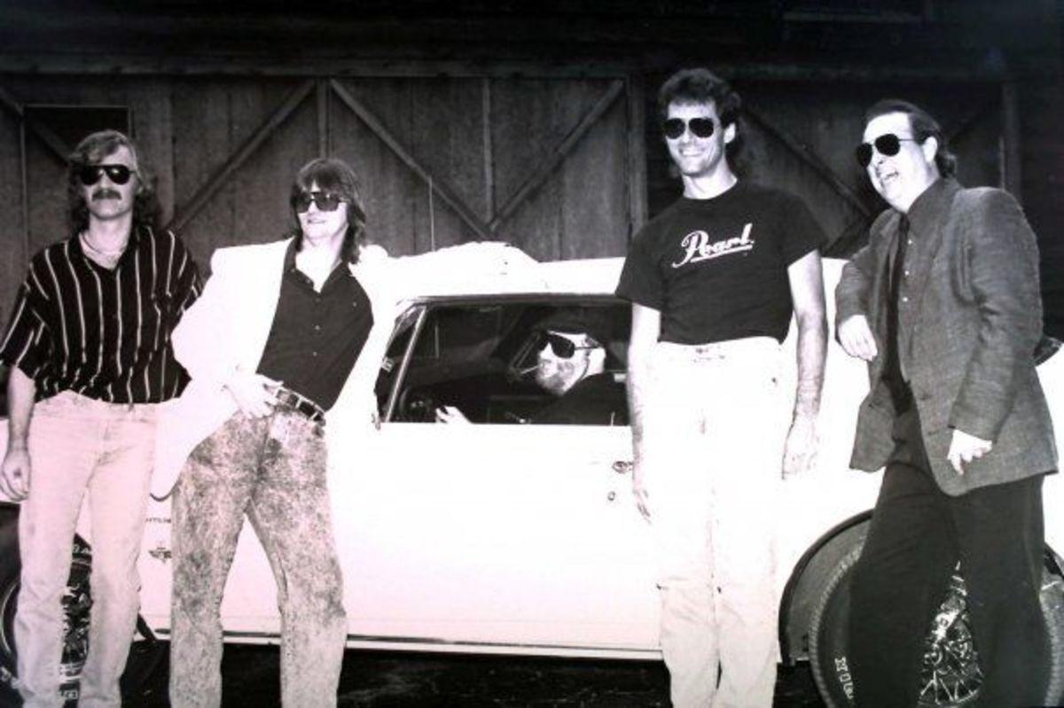 WHITE SUMMER 1991: Donnie Brown, Danny Frye, Jimmy Schrader, Jim Watkins, Steve Douglas Coghill