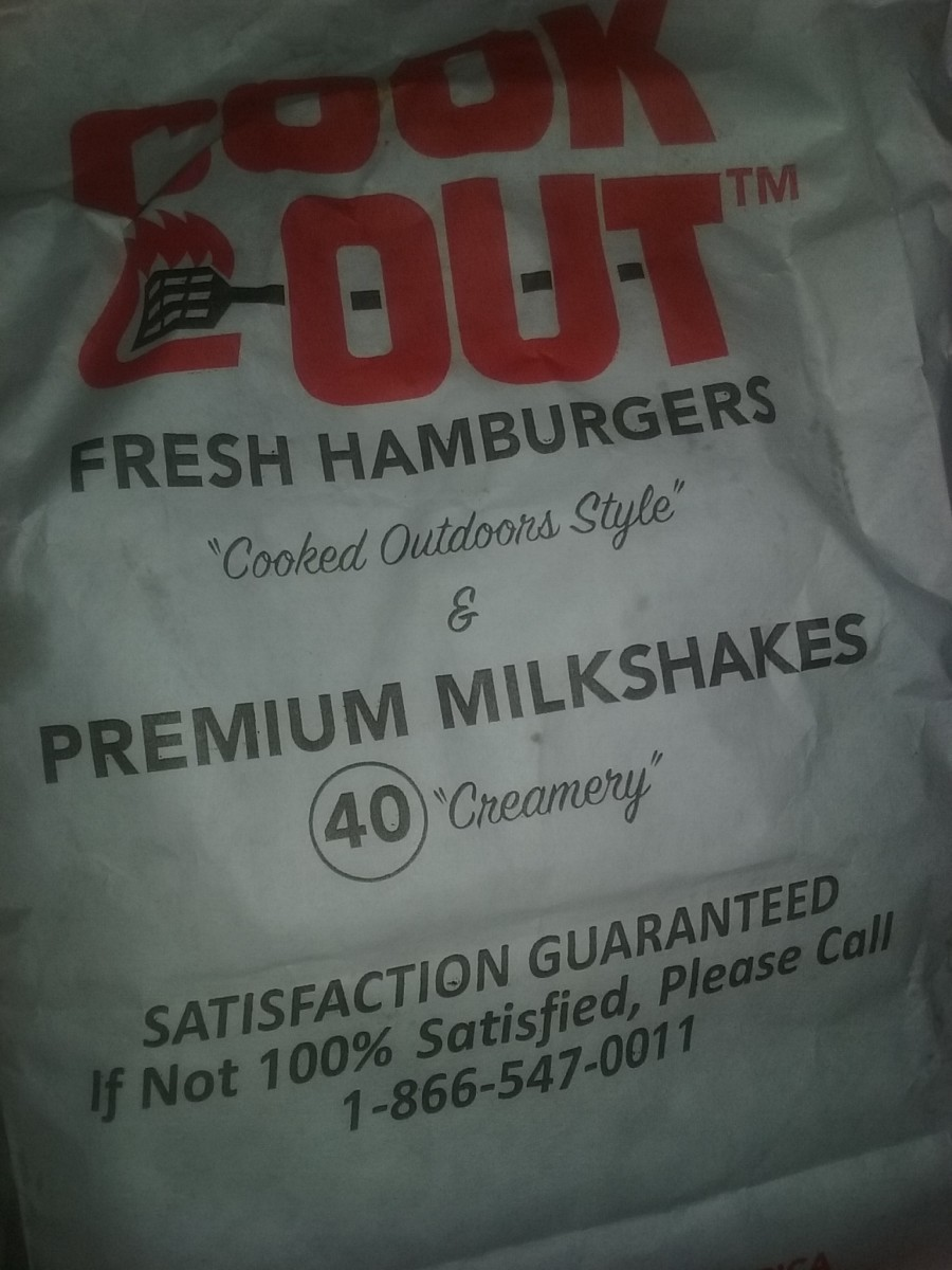 Cook Out fast food restaurant offers a 100% satisfaction guarantee.