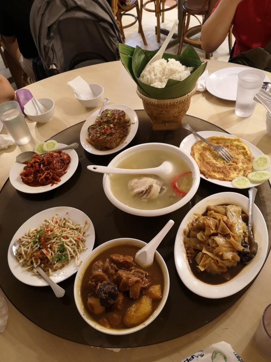 Ole Sayang Nyongya Food