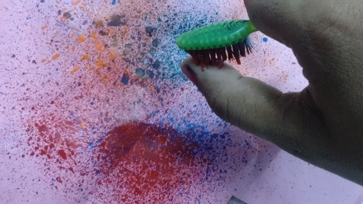 Always keep in mind to test the spray paint in a sample paper before using it.