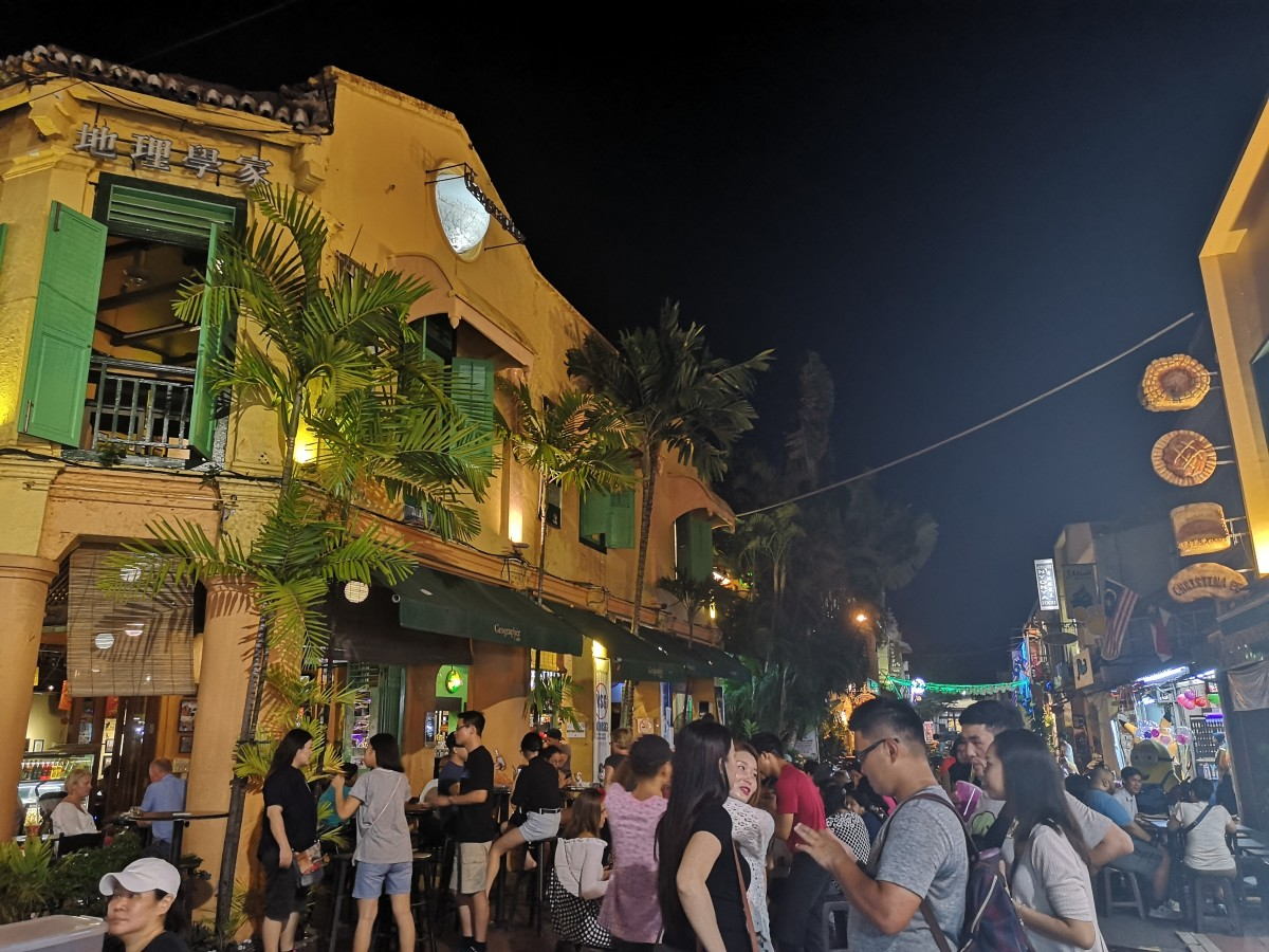 Geographer Cafe - Busy pub along Jonker Street