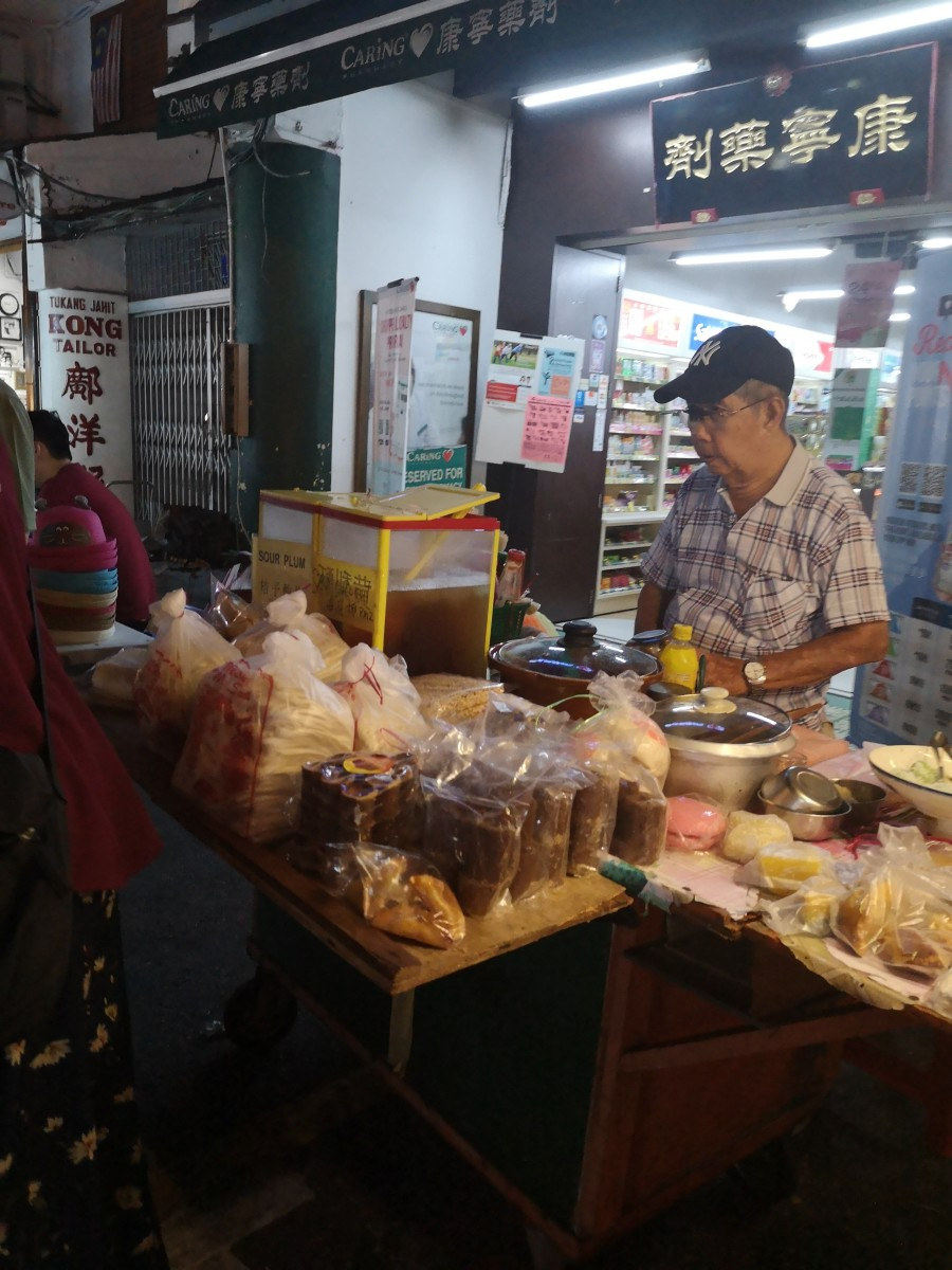 Jonker Street food