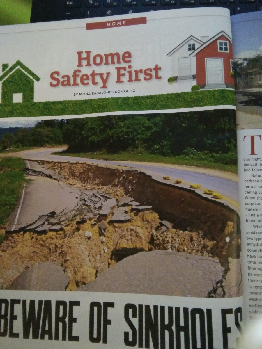 Beware of Sinkholes