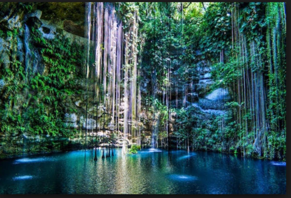 Mexico has many cenotes like this one.
