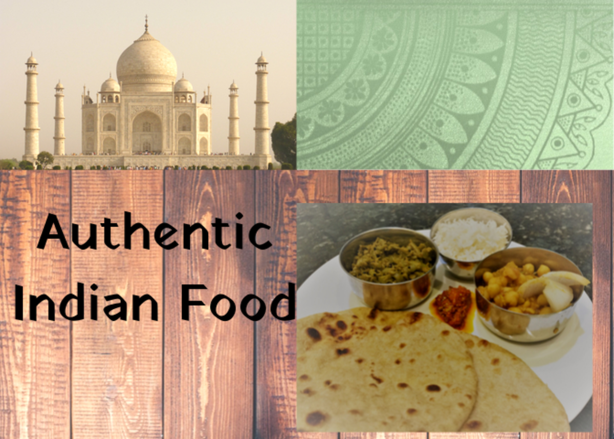 An Authentic Indian Vegetarian Meal Recipe