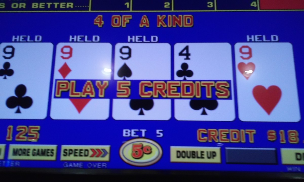Recent Hand at The Slot Palace
