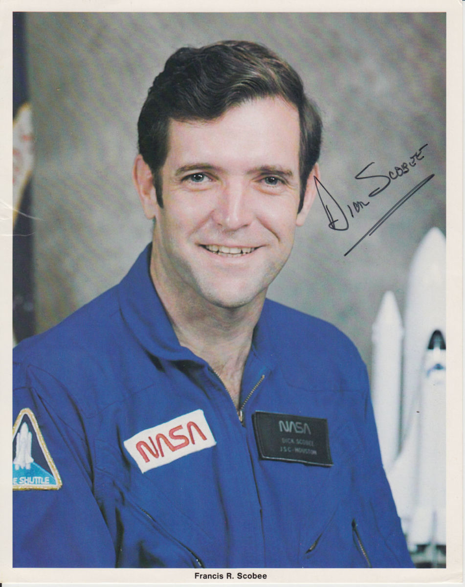 Remembering Challenger Commander Dick Scobee (Part 2: Sky Challenger)