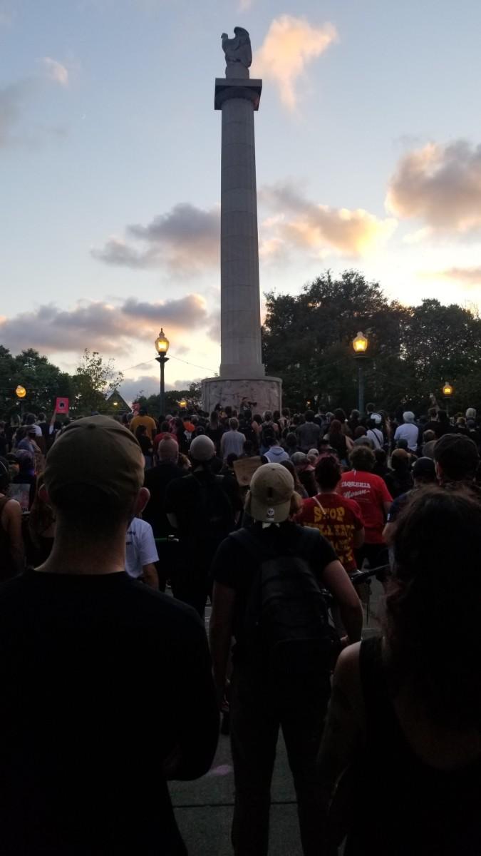Logan Square Lockdown Protest