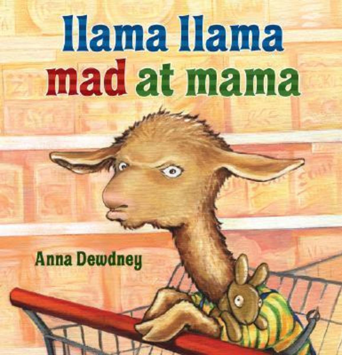Llama Llama Mad at Mama book cover