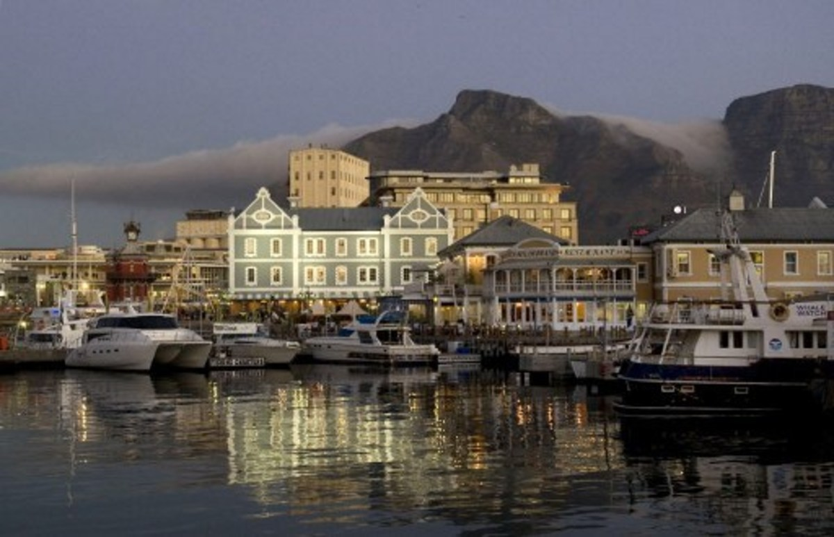A Marina in Cape Town