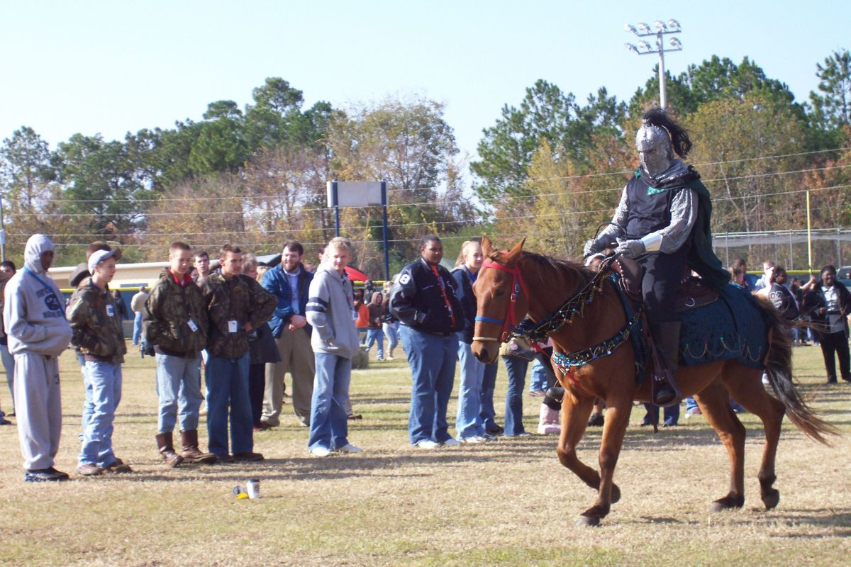 My methods of teaching included hosting a Renaissance fair.