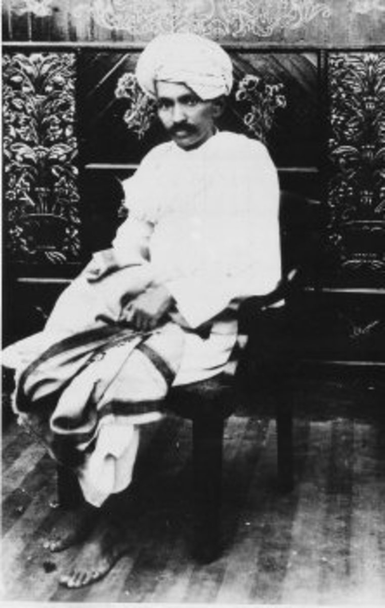 Mahatma Gandhi during Champaran and Kheda Satyagraha