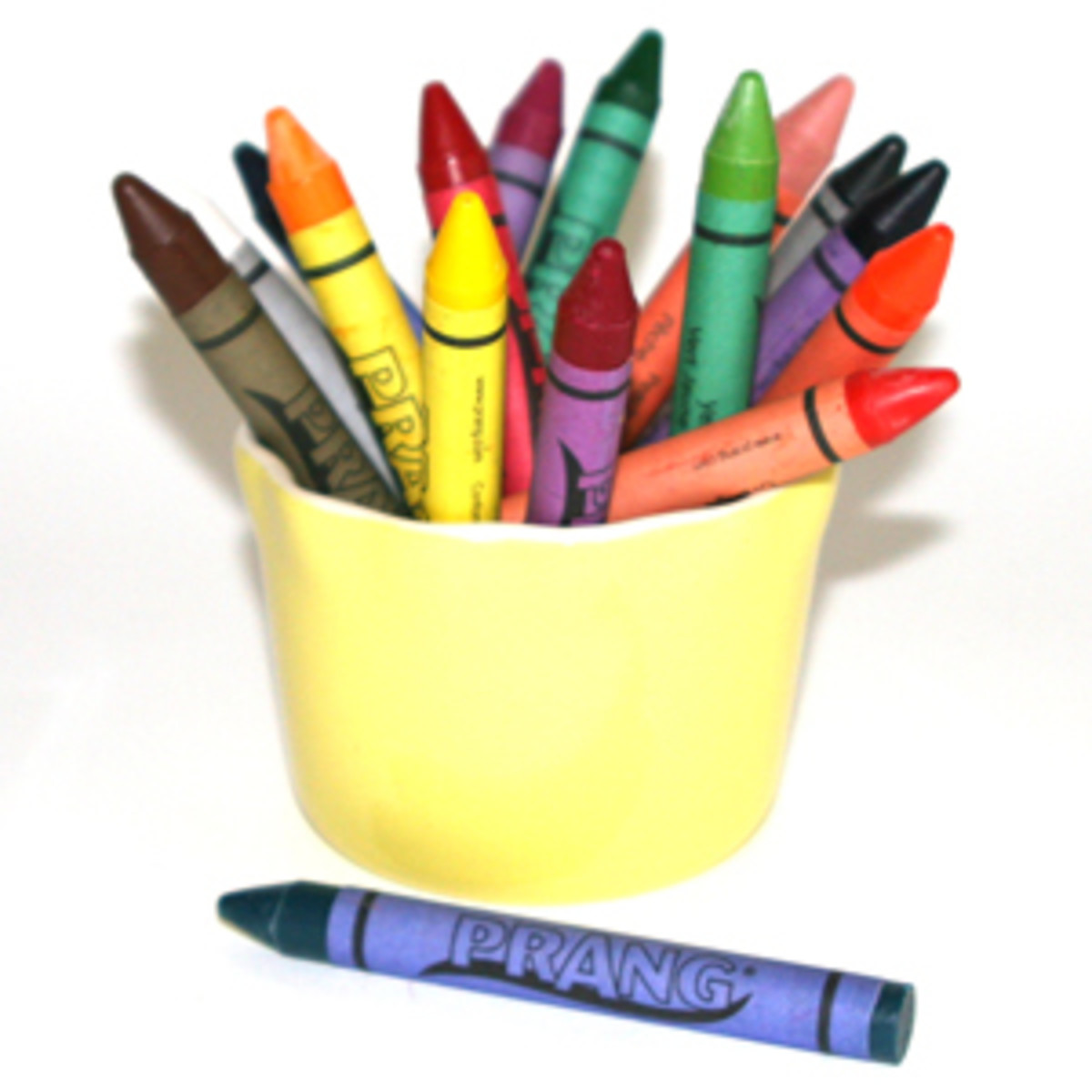 Crayons made from soybean