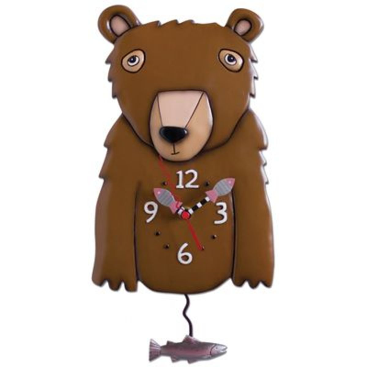 Brizzly Bear Clock by Michelle Allen Designs