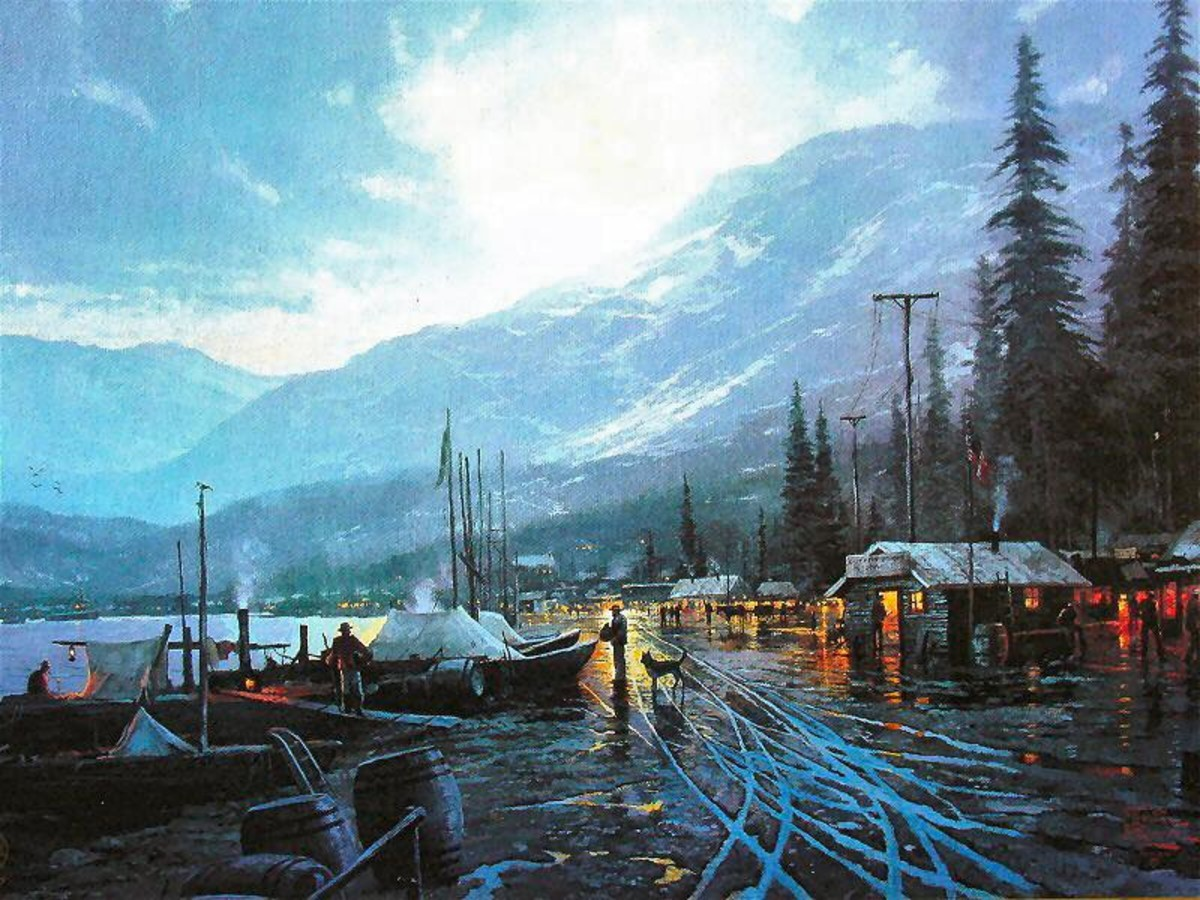Dawson by Thomas Kinkade