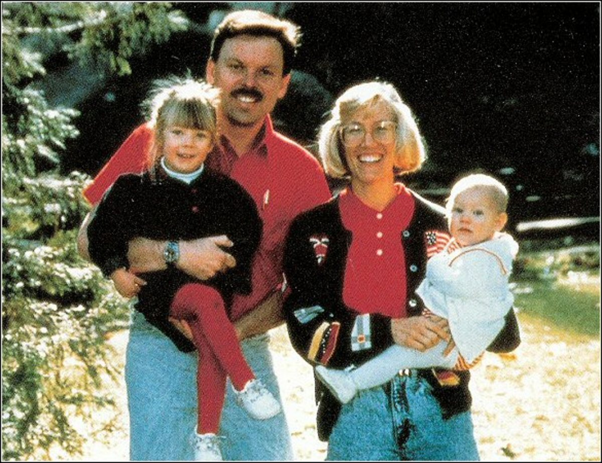 Thomas Kinkade and Family