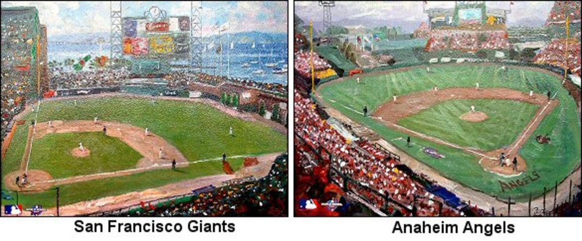 2002 World Series by Thomas Kinkade