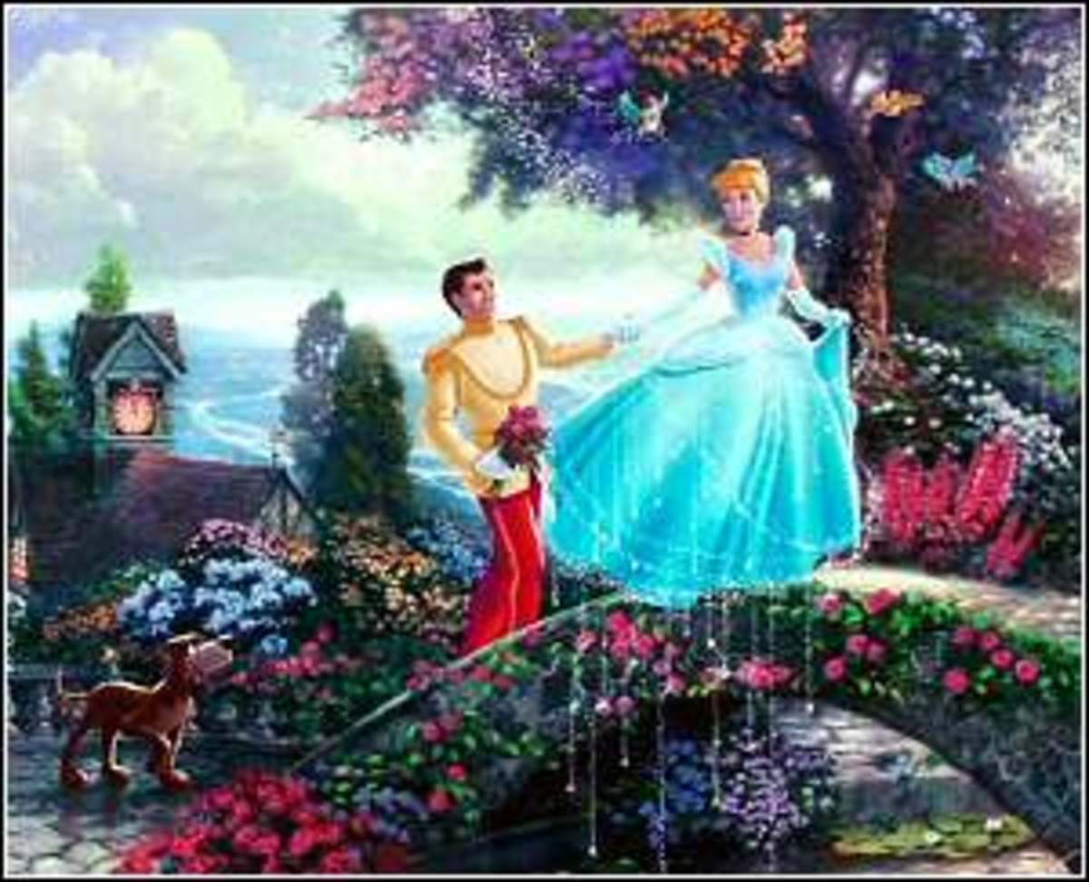 Detail of Cinderella Wishes Upon A Dream