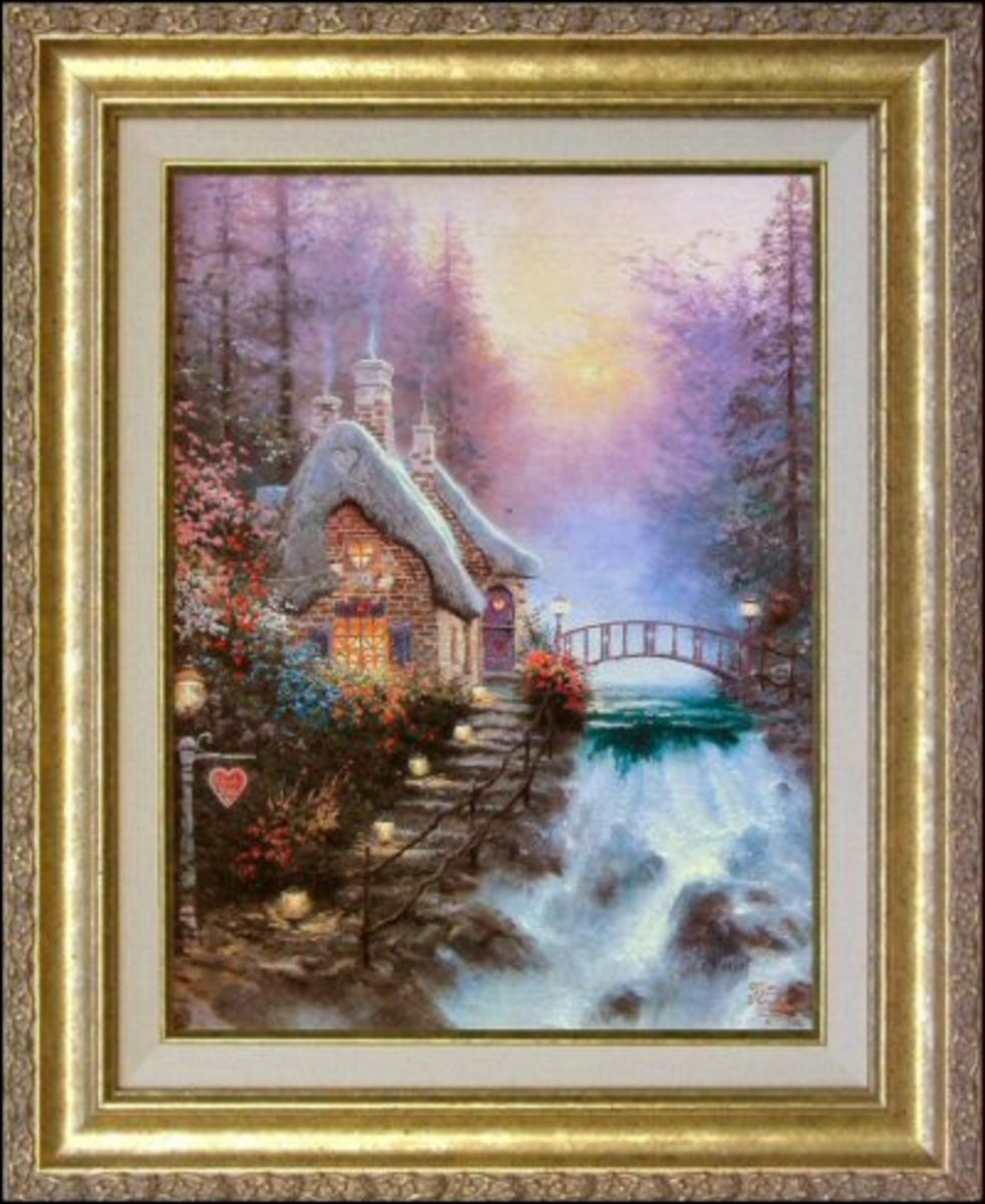 Sweetheart Cottage II by Thomas Kinkade
