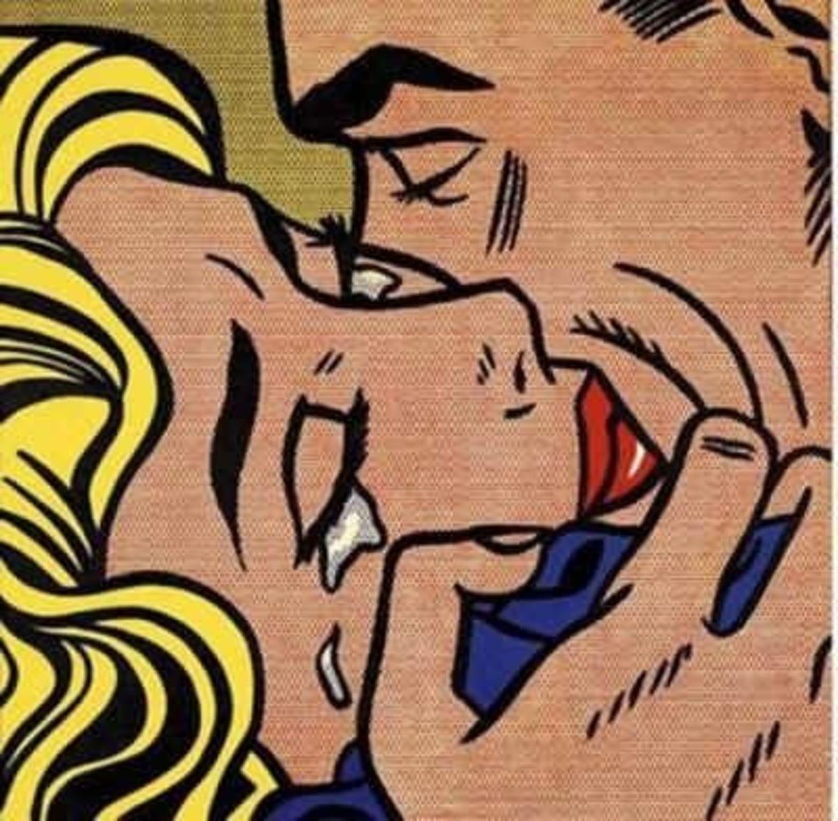 Kiss V (1964) - Roy Lichtenstein