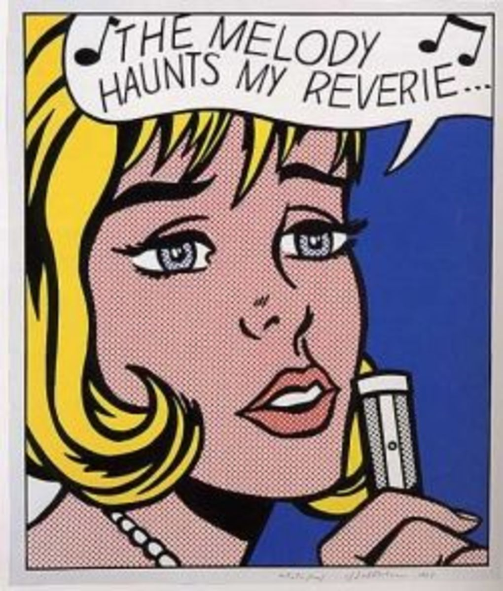 Roy Lichtenstein - Pixel Art - Comics Gone Magnificent!