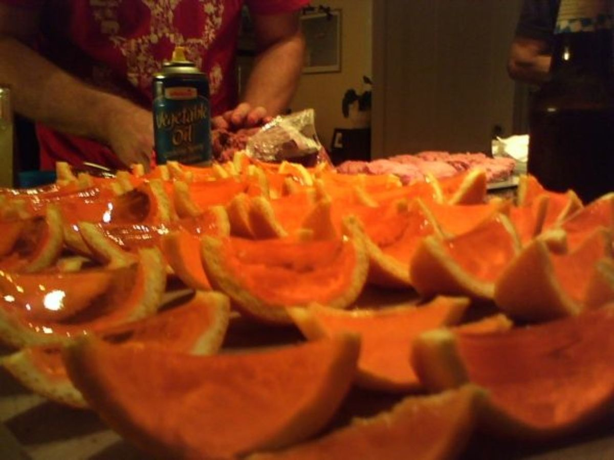 Orange Slice Jello Shot