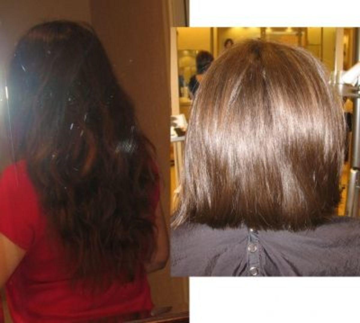 Made the cut May 24! Looking forward to enjoying short hair for the summer!