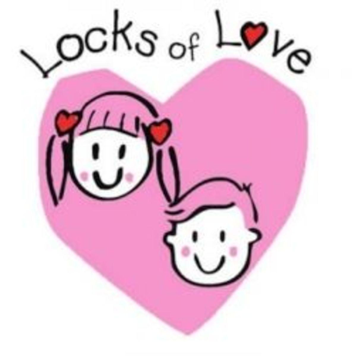 Locks of Love hair donation program