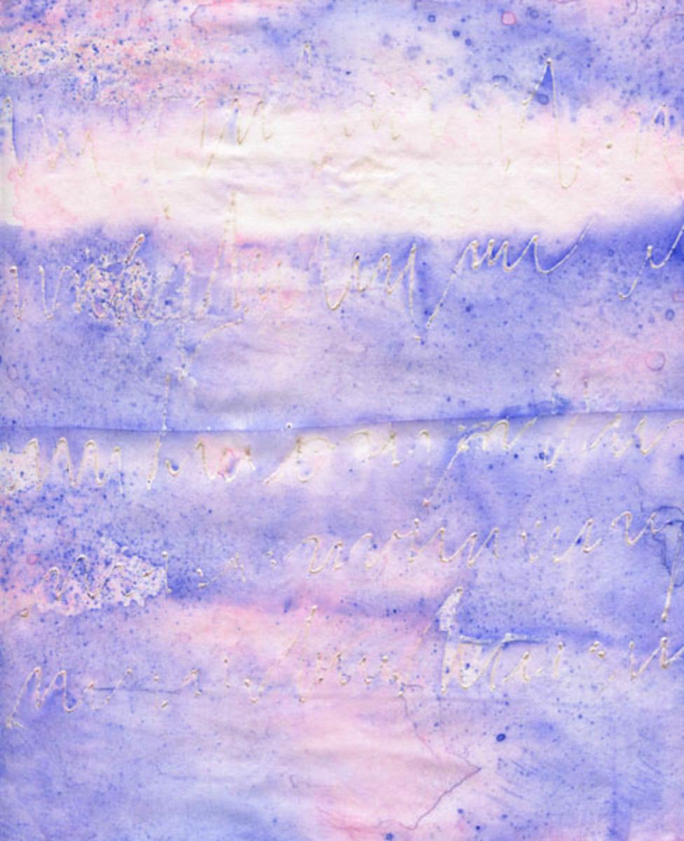 Neocolors on Silk Habotai Fabric