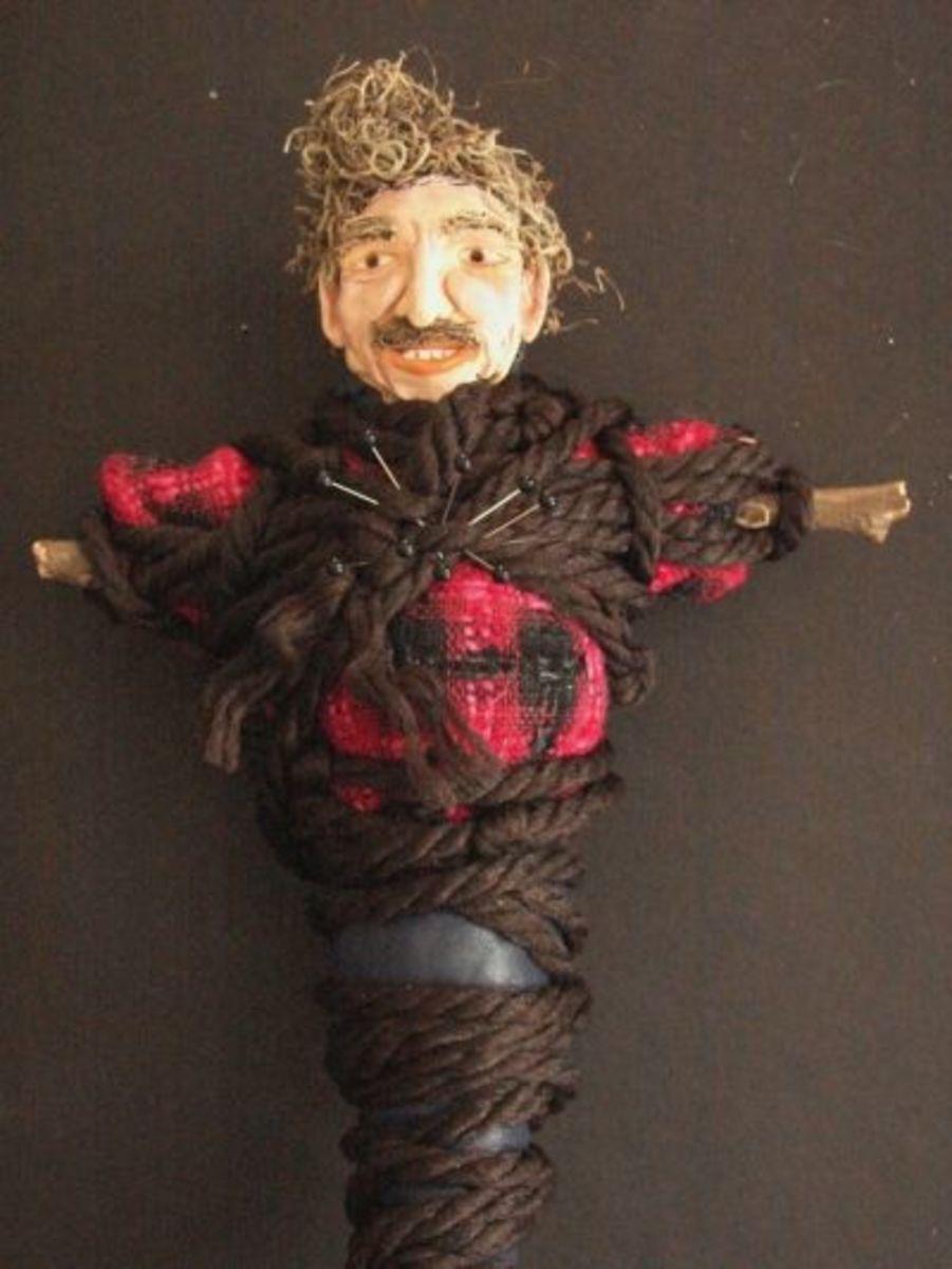 Bind and Banish Voodoo Doll