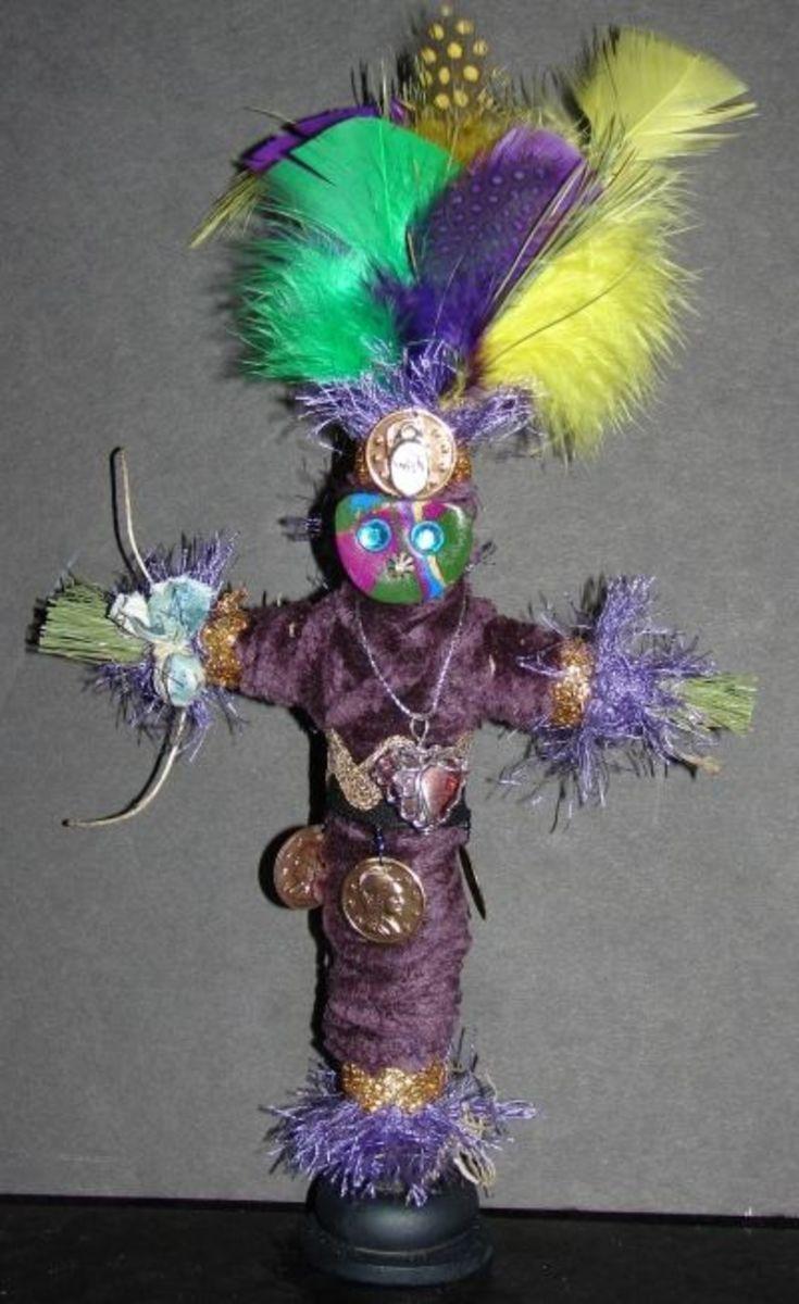 Ju Ju Guardian Charm Doll