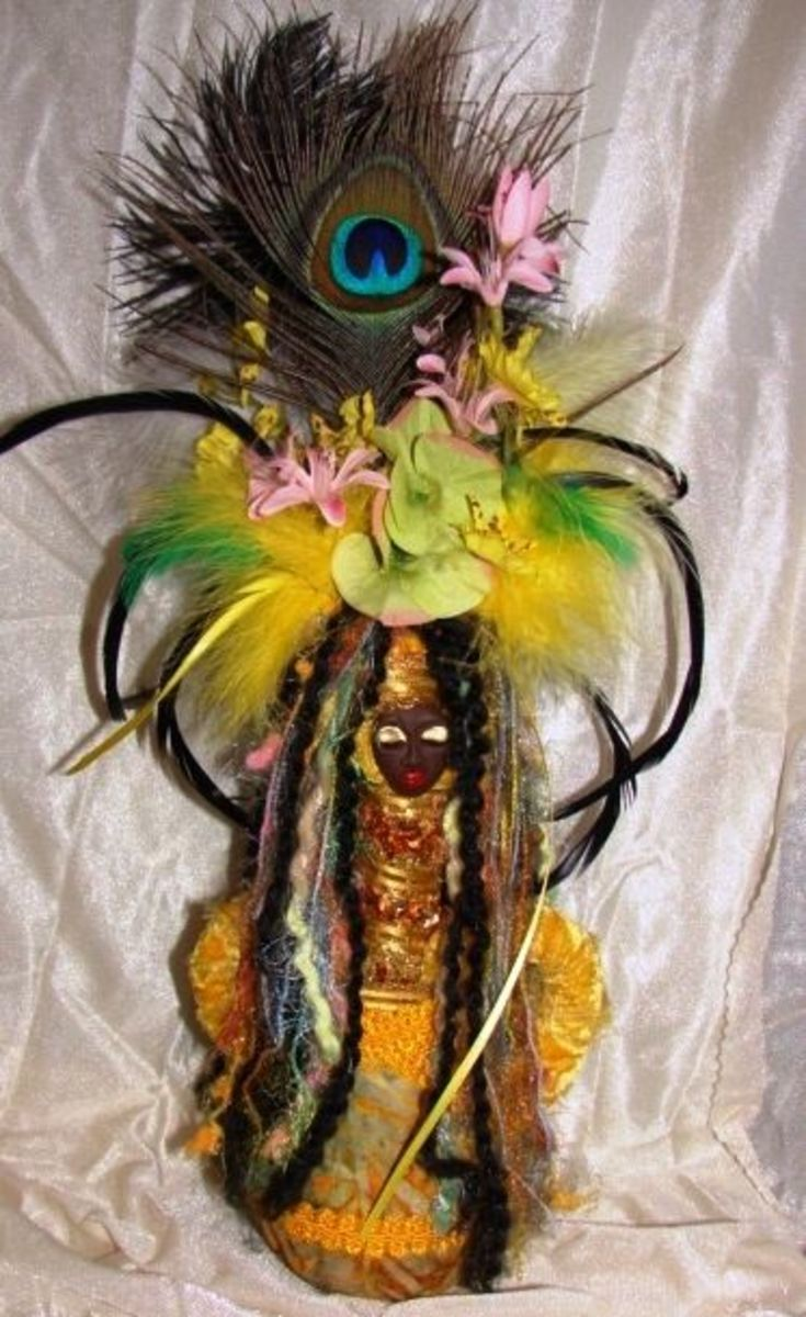 Oshun Wanga Doll