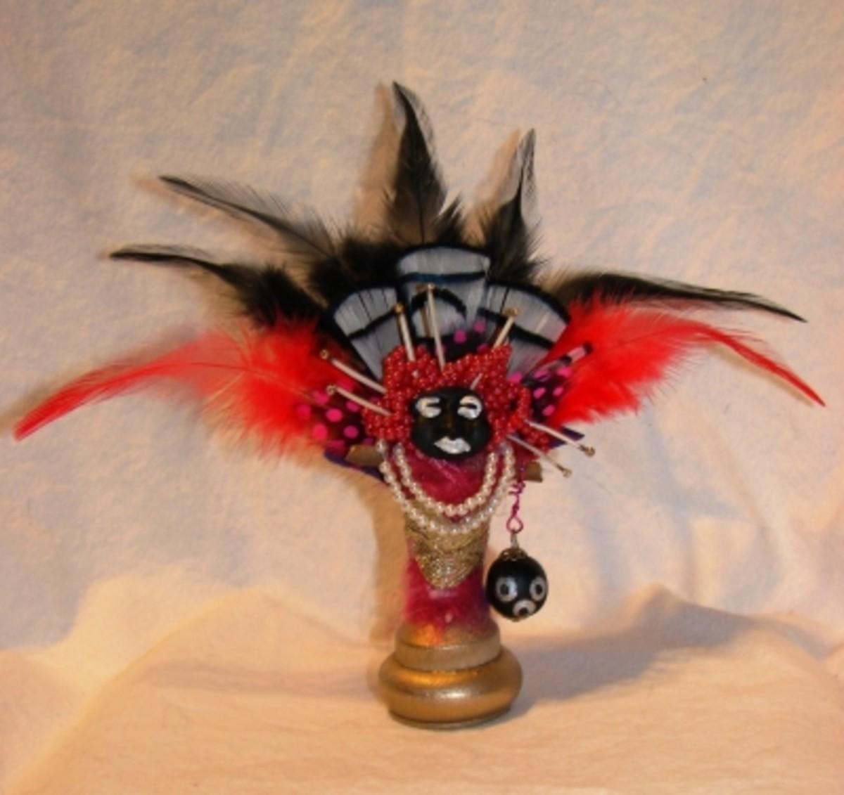 Zulu Carnival Voodoo Doll