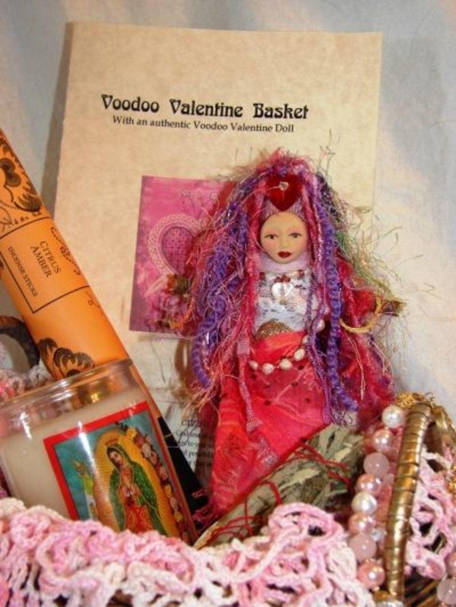 Voodoo Valentine Doll