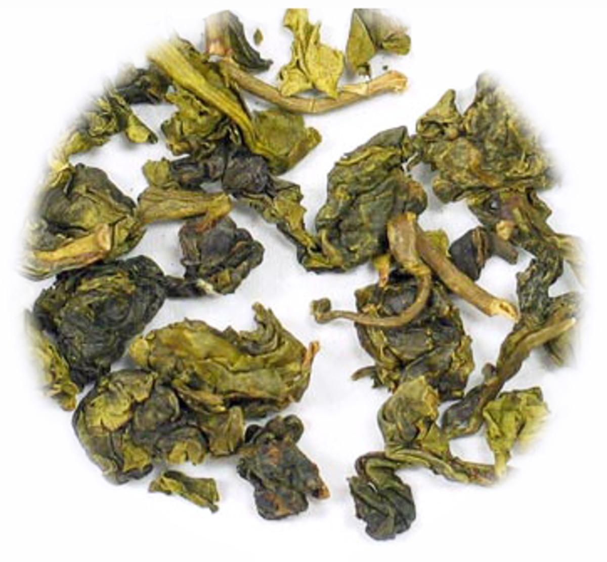 Iron Goddess Tea Leaves