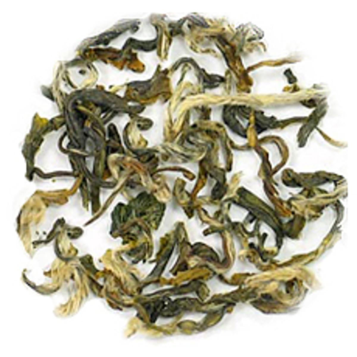 Green Snail Spring Tea Leaves