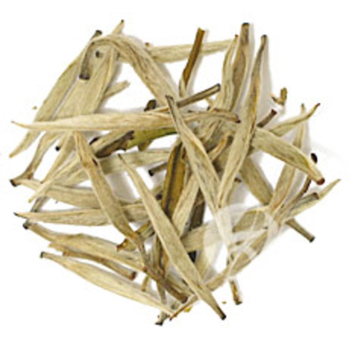 White Fur Silver Needle Tea Leaves