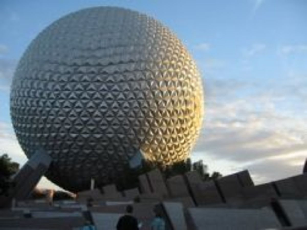 Spaceship Earth at EPCOT by WDWMemories.com