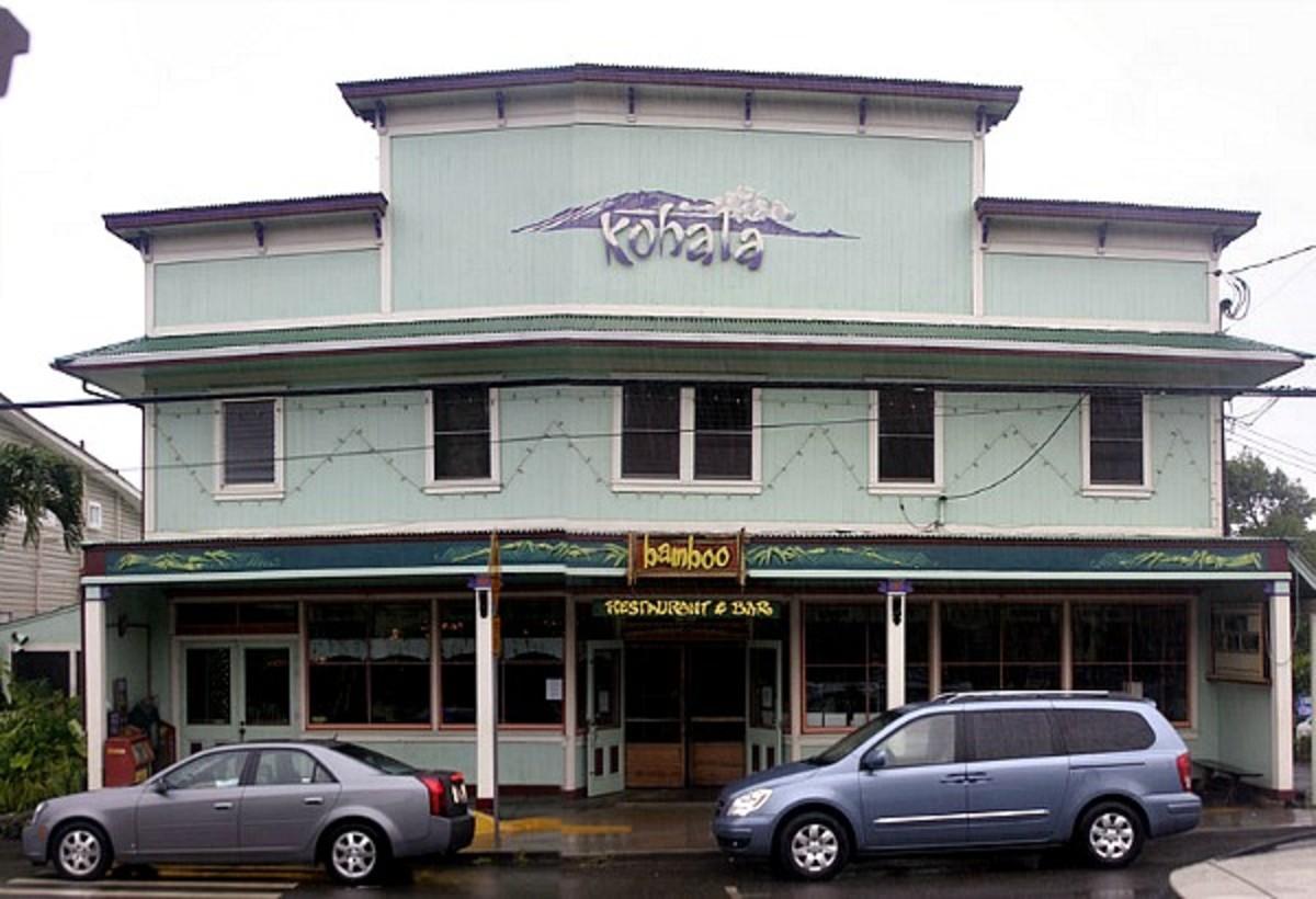 Bamboo Restaurant & Bar - Hawi