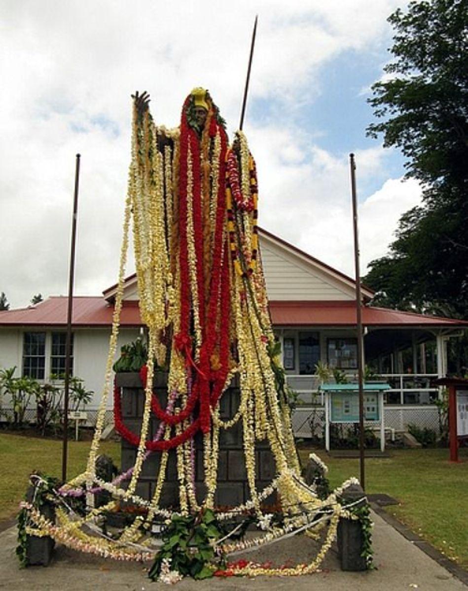 King Kamehameha the Great Statue in Kapaau