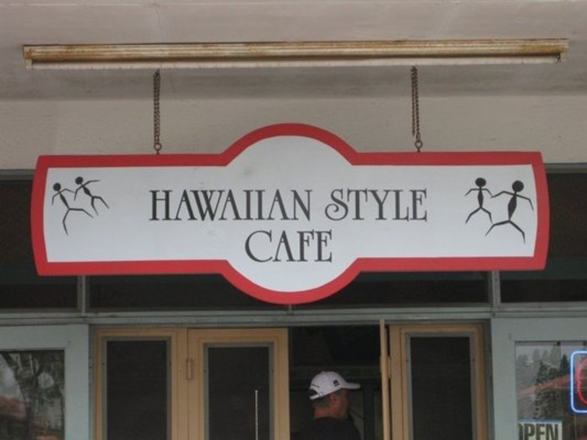 Hawaii Hawaiian Style Cafe