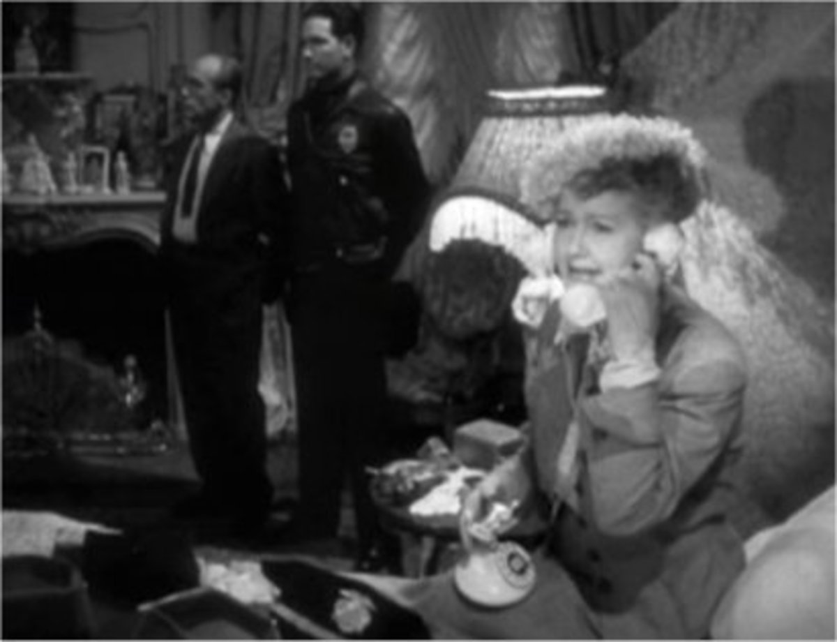 Hedda Hopper had many phone conversations with J.Edgar Hoover.