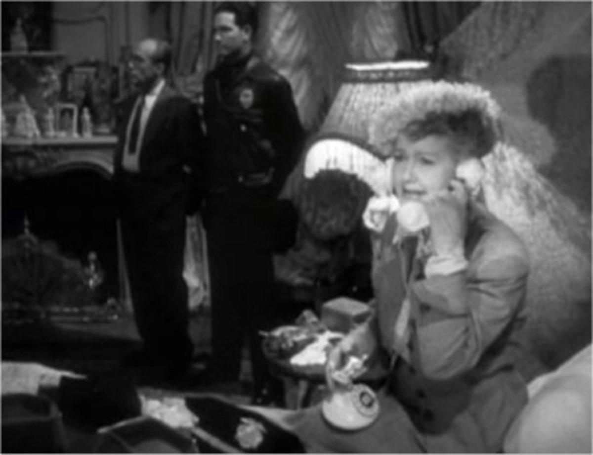 Hedda Hopper had many phone conversations with J.Edgar Hoover.